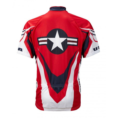 USA Ride Free Cycling Jersey - Mycyclingpro