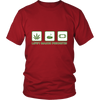 Image of Life's Major Priorities Marijuana Themed T Shirt