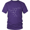 Image of THC Molecule T-Shirt