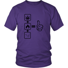 Thumbs Up Cannabis Tee Shirt