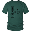 Image of Thumbs Up Cannabis Tee Shirt