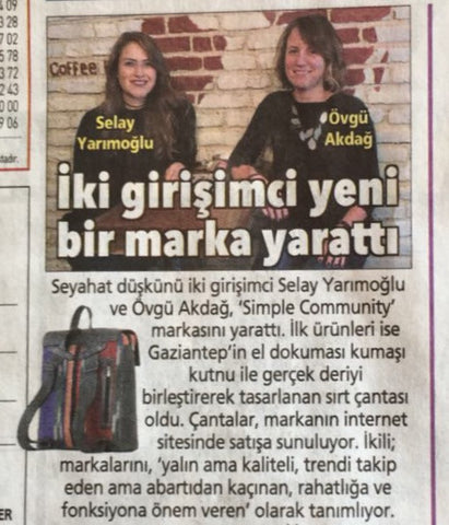Simple Community Posta Gazetesinde