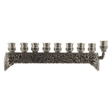 CHANUKIYA MENORAH - SIVER PLATED SMALL
