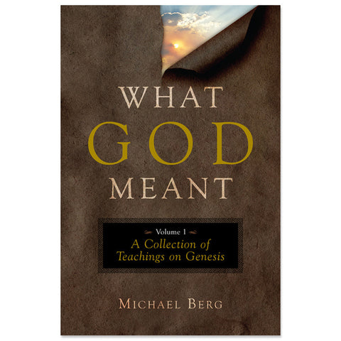 What God Meant: Volume 1 Genesis