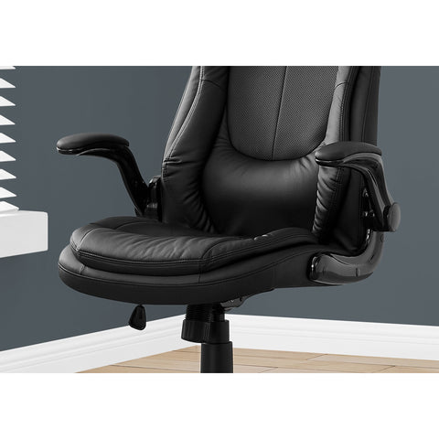 "Black Executive Office High-back Chair 28.5"" x 29.5"" x 94"""
