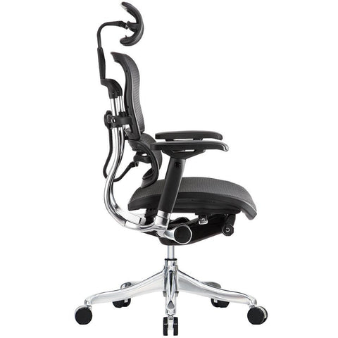 "Image of Black Mesh Elite High Back Chair 26.4"" x 26"" x 45.3"""