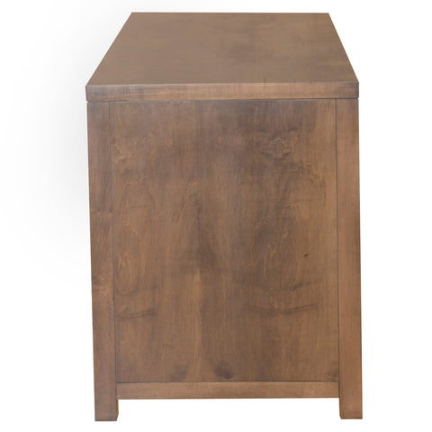 "Image of 60"" X 24"" X 30'.5"" Cappuccino Wood Writing Desk"