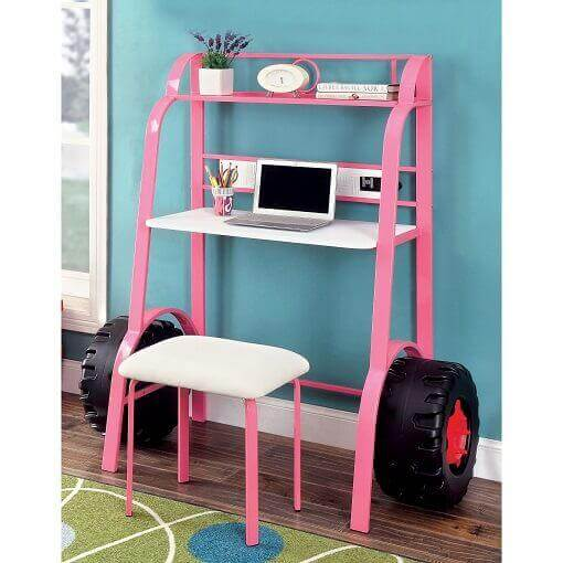 Kelly Contemporary Kids' Metal Multipurpose Writing Desk