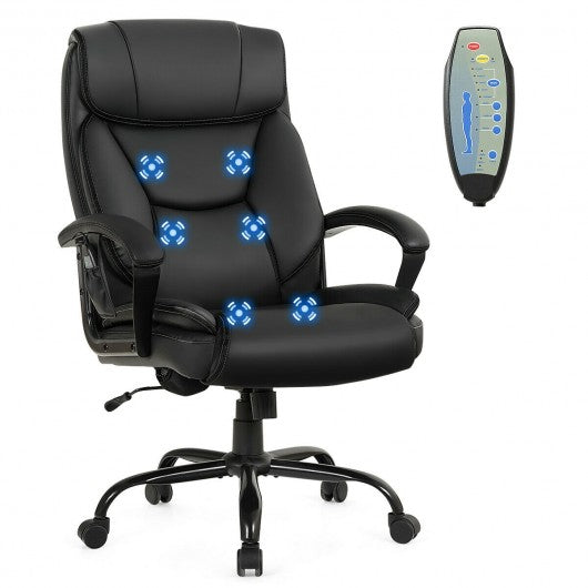 Big & Tall Massage office Chair with remote