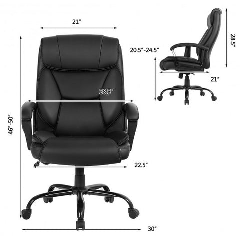 Big & Tall 500lb Massage Office Chair