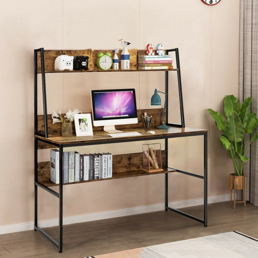 "47"" Writing Table Workstation Computer Study Desk"