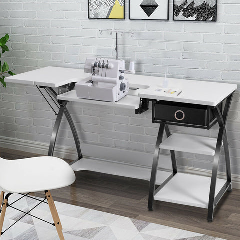 Sewing Craft Table Folding Computer Desk