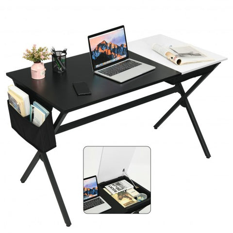 Student Writing Study Desk with Drawer and Storage Bag