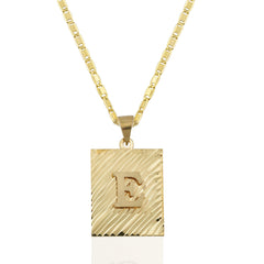 Alphabet Chain Necklace