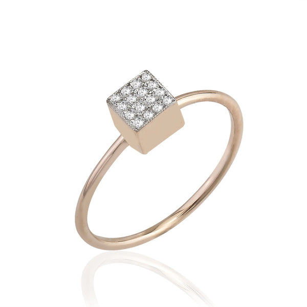 Cubic Med Shine Ring