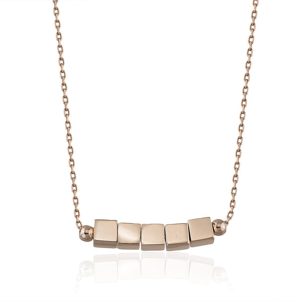 Cubic 5 Necklace