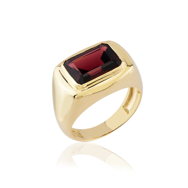 RUBY BLING RING