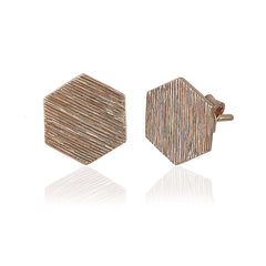 Sunny Hexagon Earrings