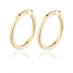 Square Large Hoops