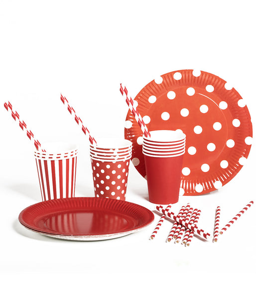 Disposable Party Pltes Abd Drinkware