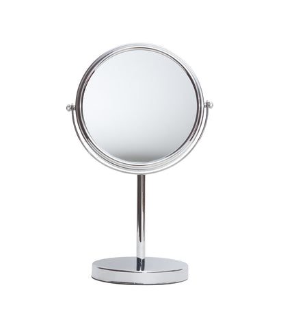 Chrome Standing Mirror