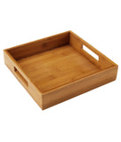 Square Bamboo Serving Tray