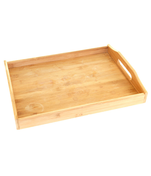 Rectangular Bamboo Serving Tray