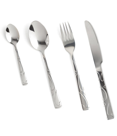 Everyday Embossed Cutlery