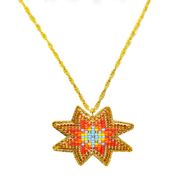 Fire Star Necklace