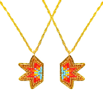 Two Pendant star-connection with fire