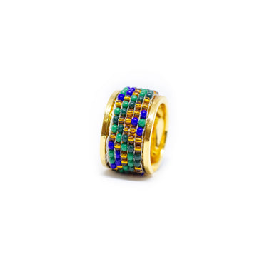 Tribal earth ring