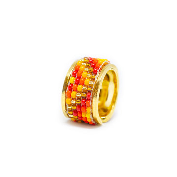 Tribal fire ring