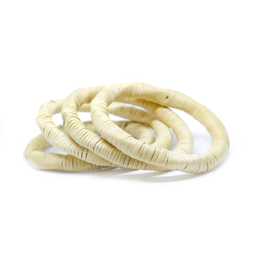 Natural bejuco bracelets (set of 4)