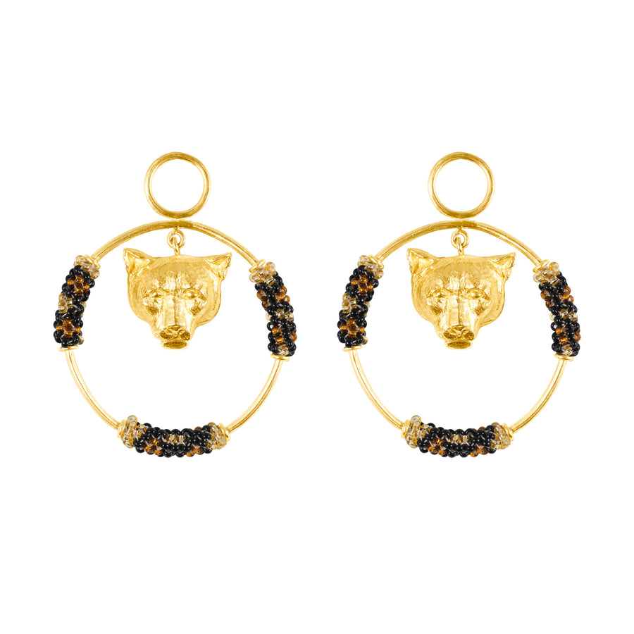 The Jaguar and The Sun Earrings