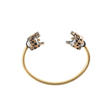 Jaguar head bracelet