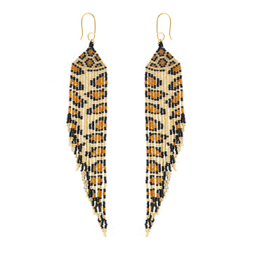 Pluma pop Jaguar Earrings