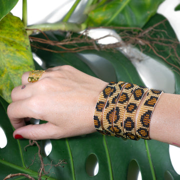 Jaguar trails bracelet