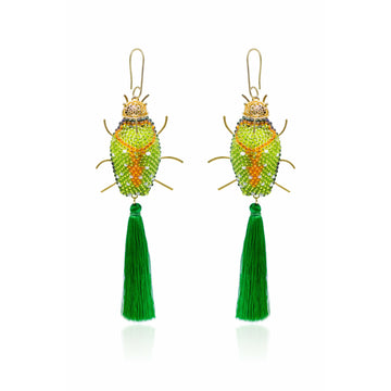 Beetle Nature Earrings
