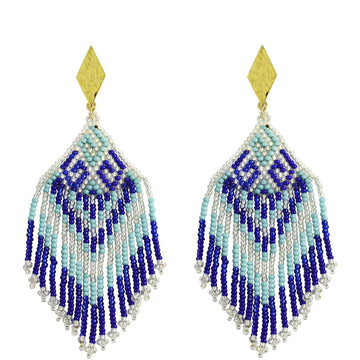 YUMAJAI Earrings Bidika Bania-Water Bidika