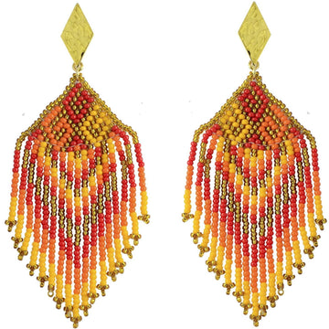 YUMAJAI Earrings Bidika Fuego-Fire Bidika