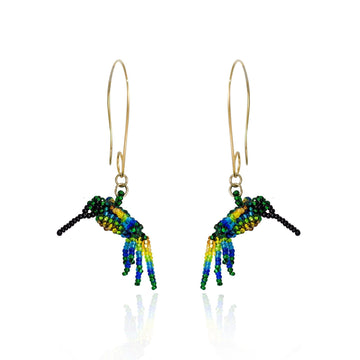 YUMAJAI Earrings Colibri putumayo