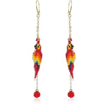 YUMAJAI Earrings Guacamayita Tropical