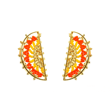 YUMAJAI Earrings Humantahu-The Sun