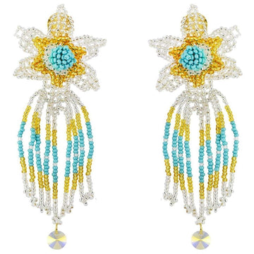 YUMAJAI Earrings Kueba Ve Kea Ebarishi-The Dew