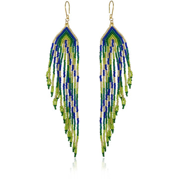 YUMAJAI Earrings Pluma Pop Colibri