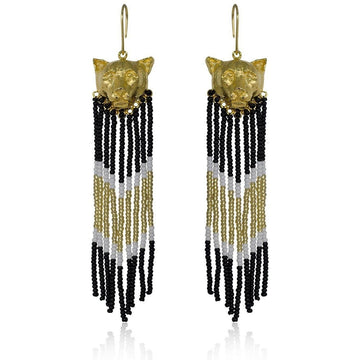 YUMAJAI Earrings Puma Gold Rain