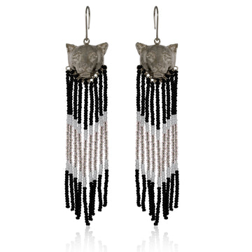 YUMAJAI Earrings Puma Silver Rain