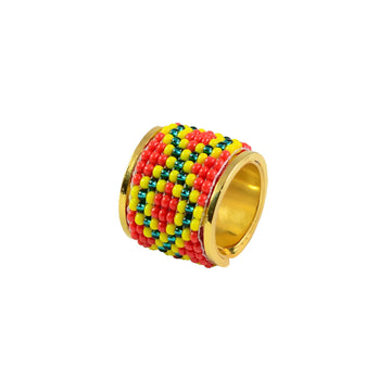YUMAJAI Rings Coral Ring