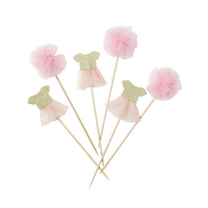 Tutu Food Picks/Cake Toppers