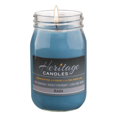 16-oz Canning Jar Candle - Rain